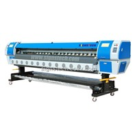 Konica Large format Solvent Printer