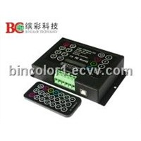 LED lamp with colorful dimmer controller (IR infrared remote control