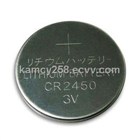 Lithium Button Cells Battery CR2450