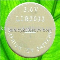 Lithium Button Cells LIR2032 battery