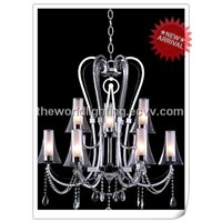 Classical European Candle Crystal Chandelier in China (MEC0446)