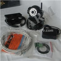 M-JPEG   IP camera with with 10pcs Infrared LED,
