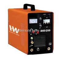 Mig welding machine with welding current 200amps,Inverter IGBT technology