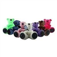 Mobile Phone Mini Speaker, Teddy Bear Design, CE/RoHS Mark, Approved for MP3/MP4/Mobile Phones/PCs
