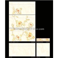 Morden waterproof glazed wall tiles 300X600mm