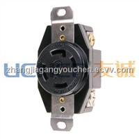 NEMA L14-30 Locking receptacle