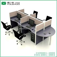 D6-New design wood workstations office furniture