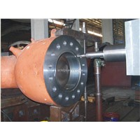 Nuclear turbine main steam valve