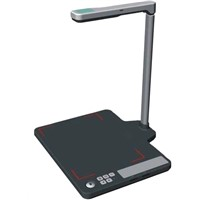 Off line use document Scanner/Visualizer with SD card Metal mat--P05