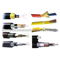 Outdoor Armored Fiber Optical Cable