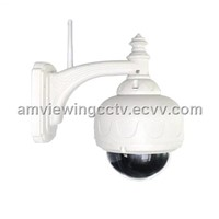 Outdoor Waterproof PTZ IP Speed Dome Camera with Night Vision,3X Optical Zoom