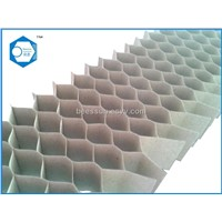Paper honeycomb core