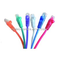 Patch Cable Colorful 8p8c RJ45 Cat 5e Internet Patch Cord (CJ-PL09C)