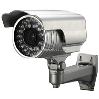 QF-758 Color CCD Waterproof Day and Night Varifocal Lens IR Box Security CCTV Camera