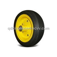 Rubber wheel, 10 x 3.5-inch Solid Wheel for Hnad trolley,Generator,lawnmower,etc. Line