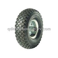 "Rubber wheel,Pneumatic wheel,Hand truck wheel 10""X3.00-4  PR1811"