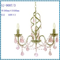 SJ-9007-3-Classical European Capodimonte Crystal Chandelier in China