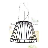 SPL1535-Black Branch Stand Glass Kitchen Pendant Lamp