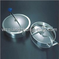Sanitray Manhole Stainless Steel With Round/Oval/Square/Rectangular Shape