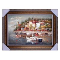Seascape painting, Med painting, board painting,