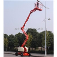 Self-propelled articulating boom lift platform GTZZ15