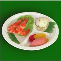 Set Meal Tray,Hamburger Box,Compartments Box and Tray,Paper Cup,Disposable Biodegradable Tableware