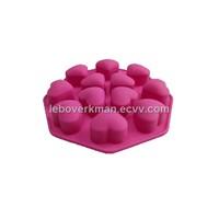 Silicon mold for ice tray