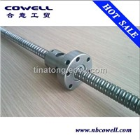 Single cut flange ball screw