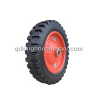 Solid rubber wheel,Wheelbarrow wheel13''x3.25-8inch