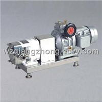 Stainless Steel Sanitary Rotor Pump/Cam/Lobe Pump/Positive Displacement Pump