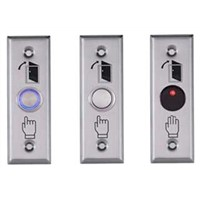 Stainless steel exit button DW-B04