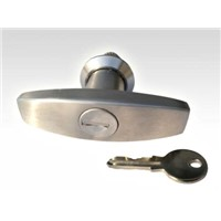 Stainless steel knob lock