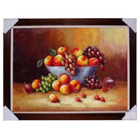 Still life painting,Fruit oil painting,Europ Oil painting