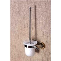 Toilet brush & holder