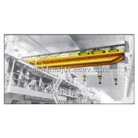 Two beam overhead crane price in China