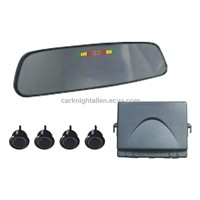 VFD parking sensor with mirror