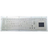 Vandal Proof Stainless Steel Keyboard (X-PN66B)