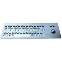 Vandalproof Industrial Keyboard with Trackball (X-BP66F)