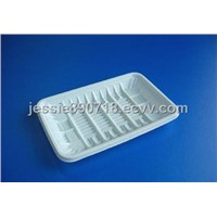 White blister tray