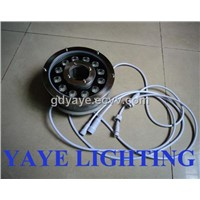 Yaye Hot Sell 1w-36w RGB LED Underwater Lamp IP 68-LED Lamp