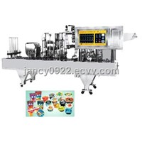 ZS-CF-10 Auto Cup Filling and Sealing Machine