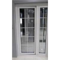 aluminum  and upvc  door