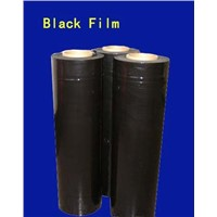 lldpe stretch film with black color