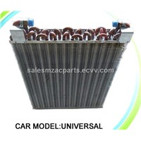 copper air condenser / heat exchanger for vehicle air conditoner