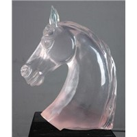 crystal craft/glass craft/crystal glass sculpture