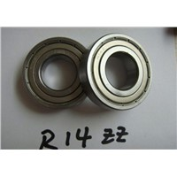 high precision inch bearing, deep groove ball bearing R14-ZZ