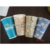 disposable paper cups with pictures