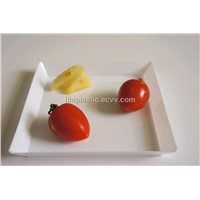 disposable tableware, disposable tray, plastic tray, PLA tray