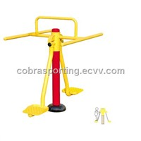 double swing plate&ourdoor fitness equipments