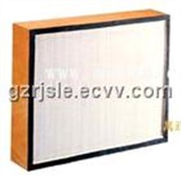 high efficiency air filter with partition(HEPA)